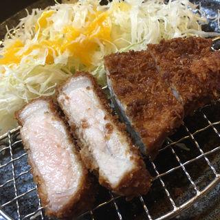 黒豚ロースとんかつ定食(そ!これこれ 豚肉屋 )
