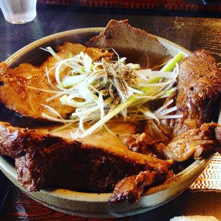 チャーシュー蕎麦(そばの丘)