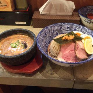 すっごい石焼 濃厚うにつけ麺(島田製麺食堂 )