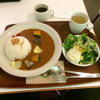 茶空楽カレーセット(chacafe 茶空楽 (チャカフェ・チャクウラ))