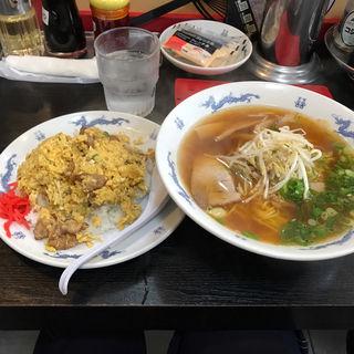 豚玉定食(三木一貫楼 )