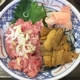 うにネギトロ丼(斎太郎食堂 (さいたろうしょくどう))