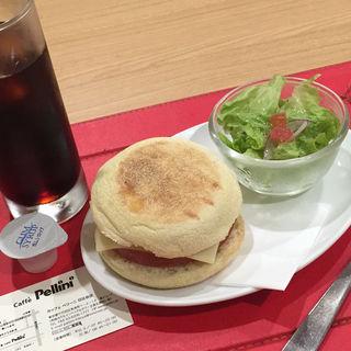 モーニングマフィンセット(カフェ ペリーニ 日比谷店 (cafe Pellini))