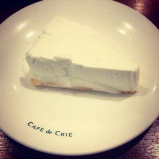 北海道産クリームチーズケーキ(カフェ・ド・クリエ 慈恵医大葛飾医療センター店 (Cafe de CRIE))
