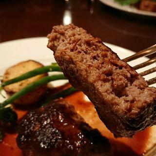 自家製ハンバーグステーキ(シュペール サンク (Super 5))