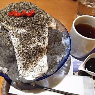 ジンジャー胡麻ミルク&豆乳クリーム(銀座のジンジャー 銀座本店 )