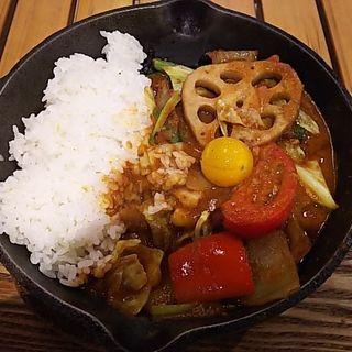 1日分の野菜カレ-(キャンプエクスプレス イオンモール幕張新都心店 (camp express))