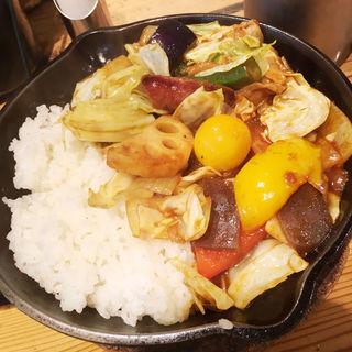 1日分の野菜カレー 牛すじトッピング(キャンプエクスプレス 品川店 (camp express))