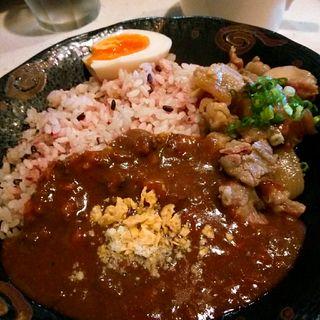 牛すじ煮込みカレー(えん )