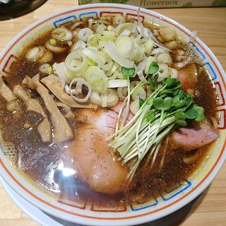 サバ醤油そば(サバ6製麺所 福島本店)