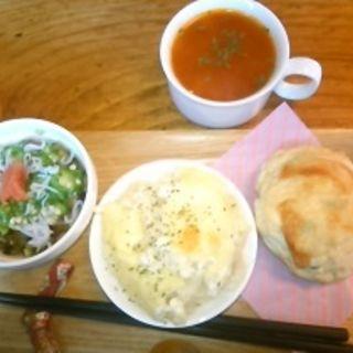 お食事スコーンセット(はしら デリ&カフェ)