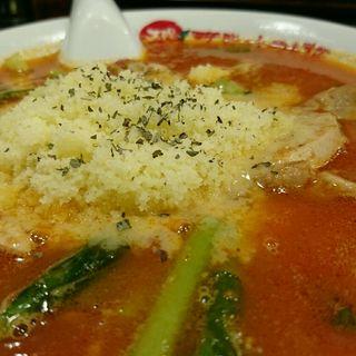 太陽のチーズラーメン(太陽のトマト麺 水道橋店 (たいようのとまとめん))