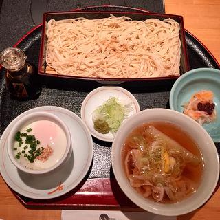 黒豚つけ麺セット(遊豚菜彩 いちにいさん 銀座店 (【旧店名】 遊食菜彩 いちにいさん))