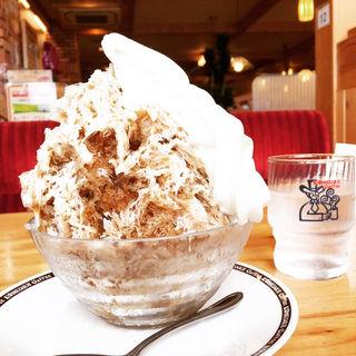 コーヒーミルク&ソフト氷 ミニ(コメダ珈琲店 阪神尼崎店 )