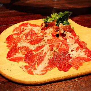 パルマ産ホエー豚の生ハム(肉ビストロTEPPEN)
