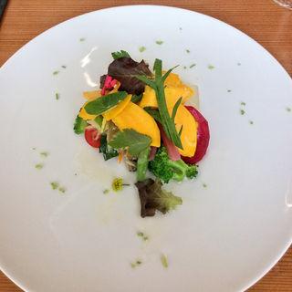 アマゴのエスカベッシュと夏野菜(シエル エ ソル (CIEL ET SOL))