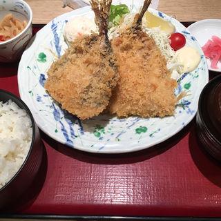 アジフライ定食(築地食堂 源ちゃん 池袋サンシャインシティ店 )