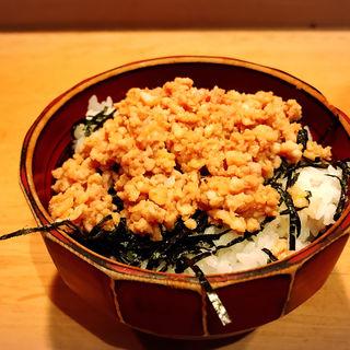 鶏そぼろ丼(鳥よし 中目黒店 (とりよし))