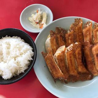 焼き餃子+ライス(宇都宮みんみん 駅東口店 )