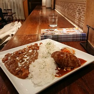 ハンバーグカレー(ハンバーグ会限定メニュー)(キッチン ハセガワ (Kitchen Hasegawa))