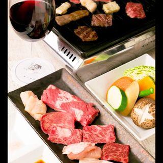 焼肉と焼き野菜+ドリンクセット(WAGYUdoki茶屋町 (ワギュウドキ))