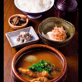 鯖の山椒味噌煮定食(美碧 (ミドリ))