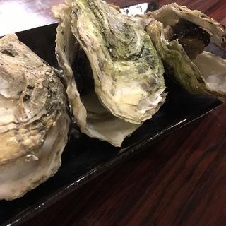 牡蠣の酒蒸し(大衆酒場えびす)