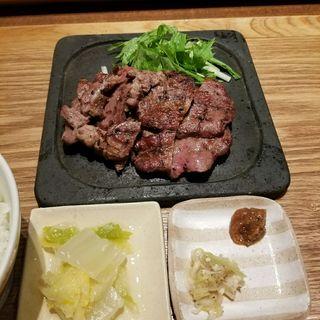 熟成牛たん定食(牛たん ITADORI 軽井沢 )