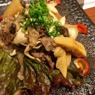 こめ豚と旬野菜のレモンバター(六ヶ城 (ろっかんじょう))
