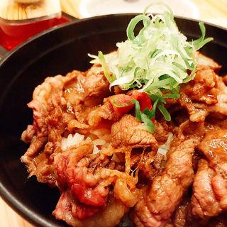 サーロイン牛丼(海物山物)