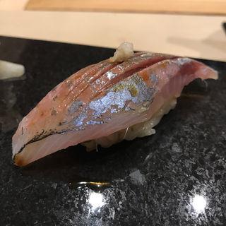 アジ(鮨 心白 (スシ シンパク))