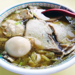 半チャーシュー煮玉子ラーメン(どうとんぼり神座  香芝SA店 (かむくら))