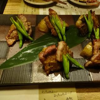 もち豚の藁焼き・南蛮味噌(四万十川 )