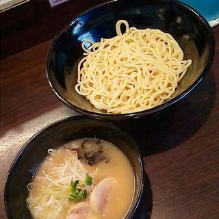 鶏塩つけ麺(中盛)(らーめん 玉彦)