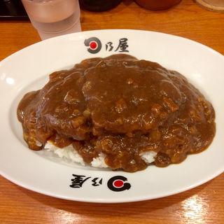 名代上メンチカツカレー(日乃屋カレー 神田西口 )