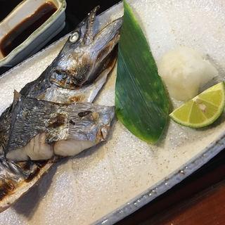 焼魚定食(サゴシ)(竹亭)