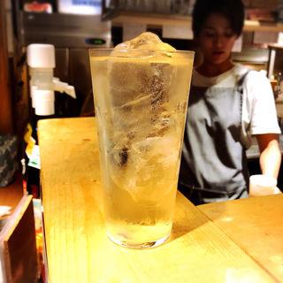 リンゴ酢サワー(鉄板バル SOURCE (ソース))