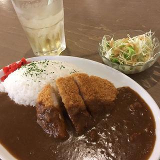 カツカレーセット(ザ・コーヒースタンダード 神戸ハーバーランドumie店 (THE COFFEE STANDARD))