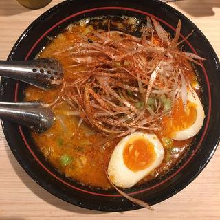 辛ネギ坦々麺(博多坦々麺 新田屋【梟】)