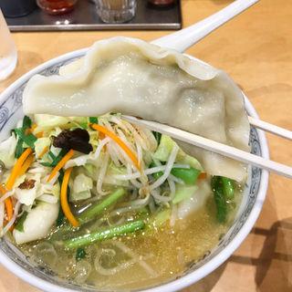 スープ水餃子(中華麺工房 男爵 市川店 )
