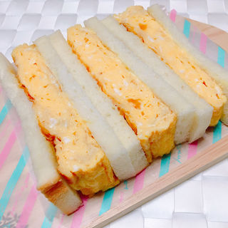 厚焼きたまごサンド(サンドイッチ王子)