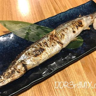 秋刀魚の塩焼き(小田保 場外店)