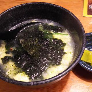 とり雑炊(鳥貴族 蒲田東口店 )
