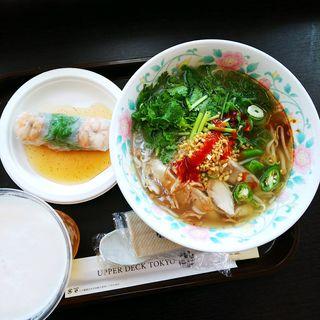 鶏肉のフォー ダブルセット(ベトナムCho)