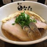 貝と煮干しの醤油らーめん(温かい)