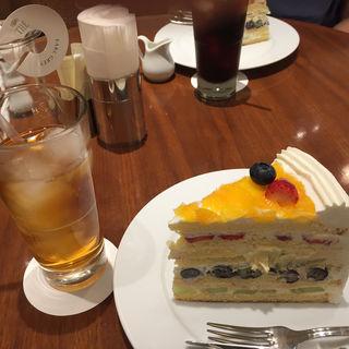 フルーツショートケーキ(ハーブス大丸梅田店)