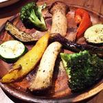 彩り野菜のグリル