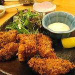 天武の牡蠣フライ