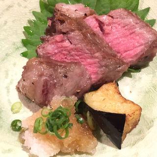 和牛サーロインステーキ(昔ばなし 別館 (ムカシバナシ))
