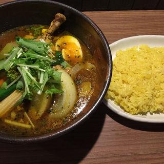 スープカレー 特選チキン野菜(札幌ドミニカ 銀座店 (DOMINICA))